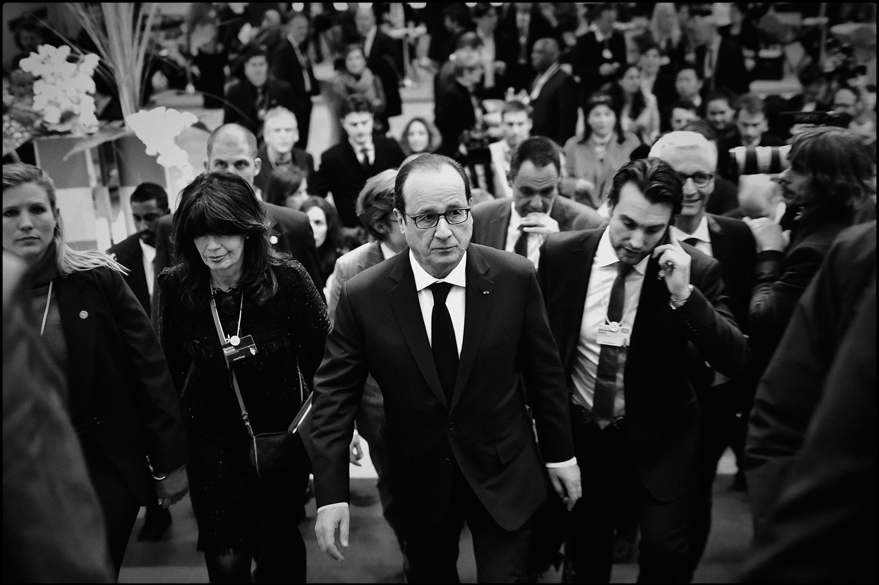 President of France Francois Hollande
