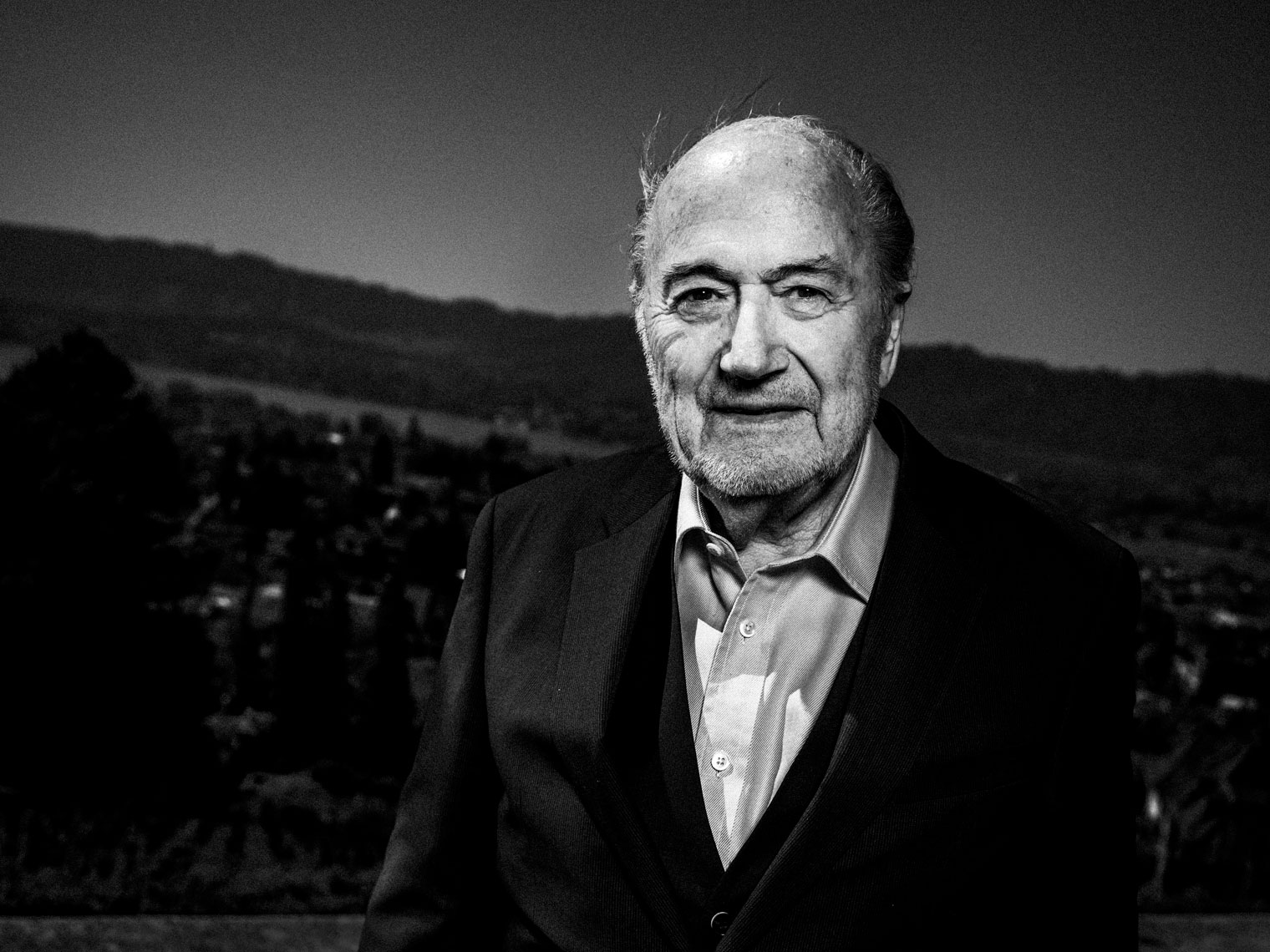 Sepp Blatter former FIFA President after his resignation, for Agence France-Presse